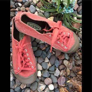 ☀️🌈🍀Women's Keen Canvas Coronado Sneaker